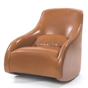 Stowmarket Baseball Glove Leather Club Chair