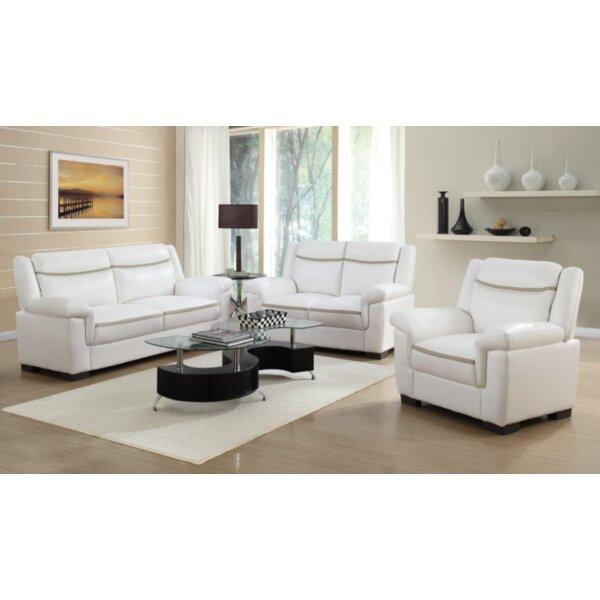 Robeson 3 Piece Living Room Set by Orren Ellis
