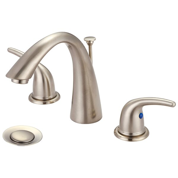 Widespread Standard Bathroom Faucet with Drain Assembly by Olympia Faucets