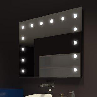 Reviews Tarek Illuminated Bathroom/Vanity Mirror ByEverly Quinn
