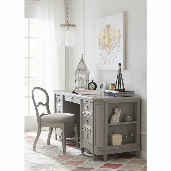 Clementine Court Credenza Desk and Chair Set by Stone & Leigh™ by Stanley Furniture