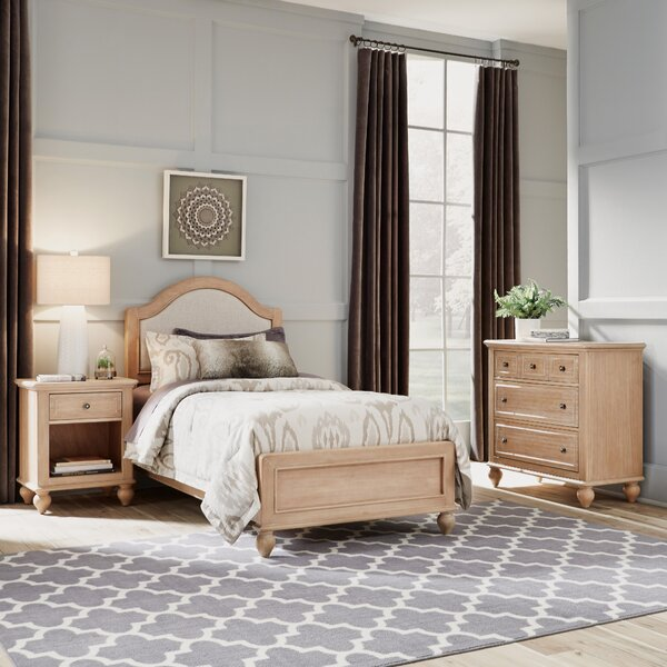 Romford Standard 3 Piece Bedroom Set by Three Posts