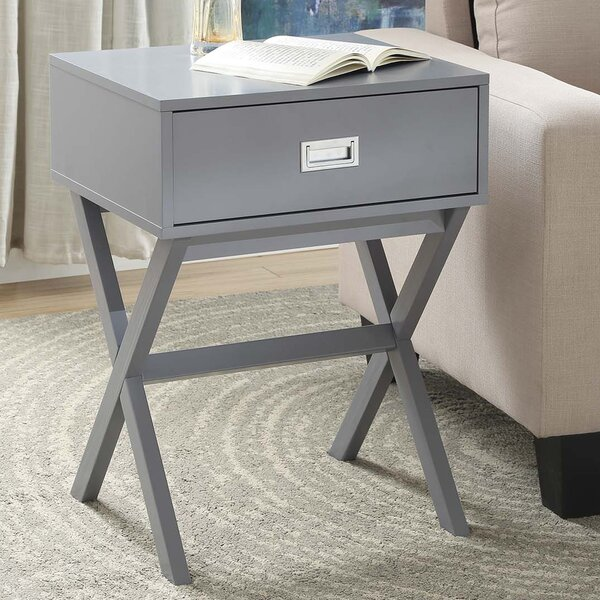 Kathleen End Table With Storage by Zipcode Design