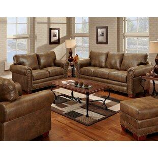 Ezra 4 Piece Sleeper Living Room Set by Loon Peak®