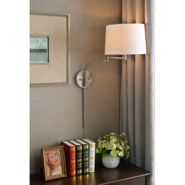 Ingalls 1-Light Swing Arm Lamp by Alcott Hill