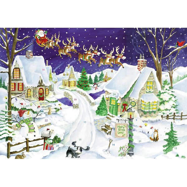 Eight Tiny Reindeer Advent Calendar by The Holiday Aisle