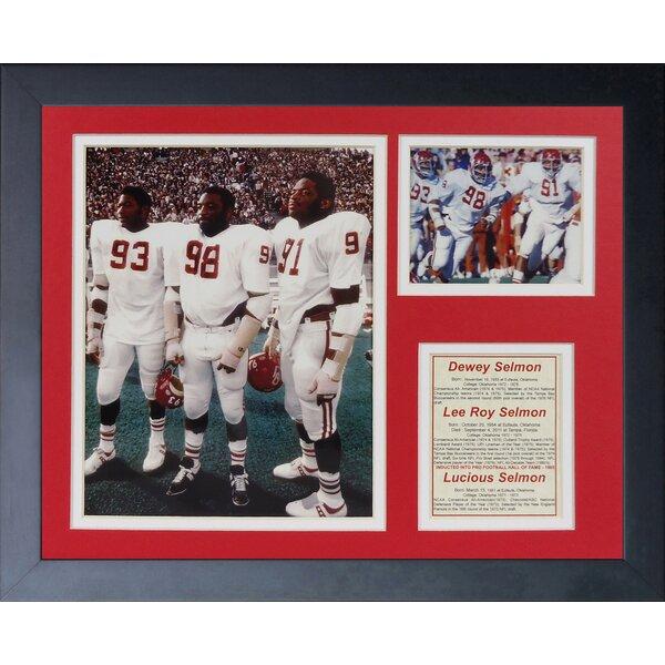 Selmon Brothers Oklahoma Framed Memorabilia by Legends Never Die