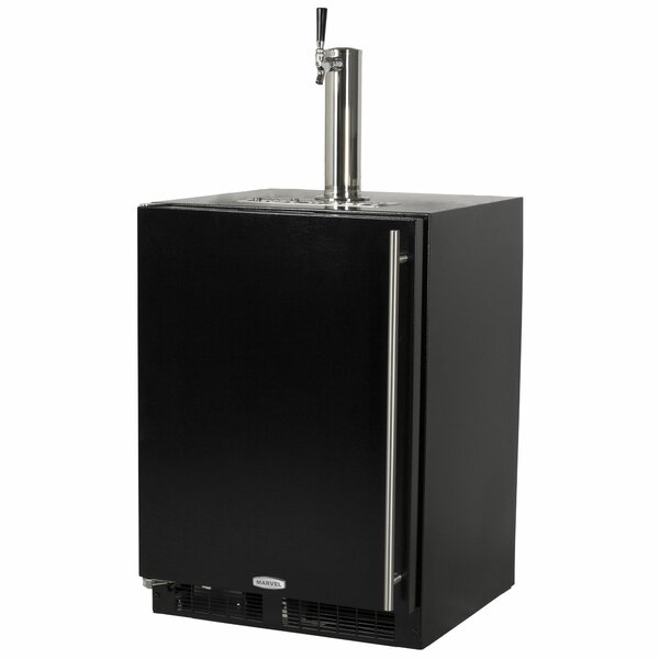 5.7 cu. ft. Single Tap Full Size Kegerator by Marvel