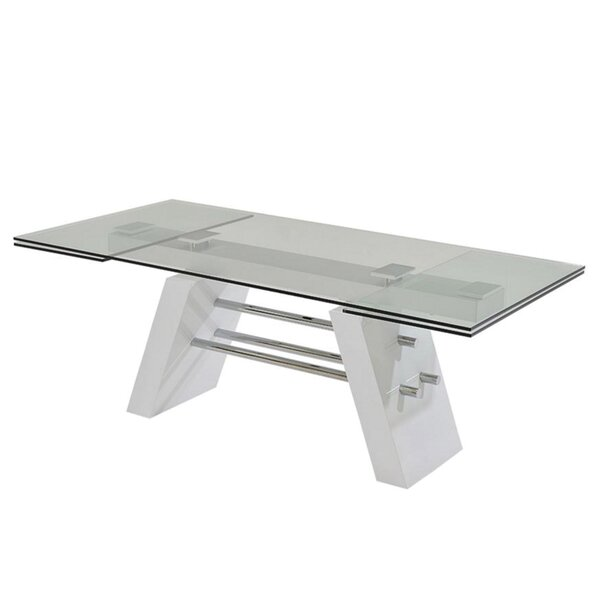 Evolution Extendable Dining Table by Casabianca Furniture Casabianca Furniture