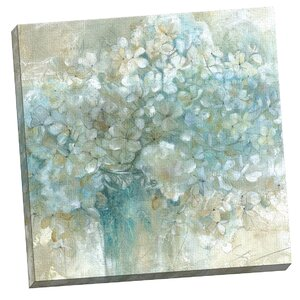 'Hydrangeas' Framed on Canvas by Lark Manor