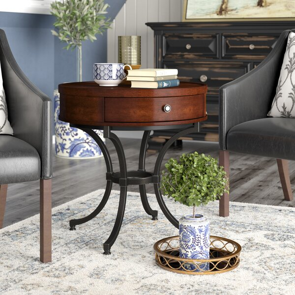 Mcpherson End Table With Storage By Darby Home Co