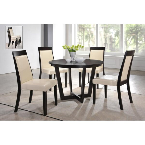Wenzel Modern 5 Piece Dining Set by Latitude Run