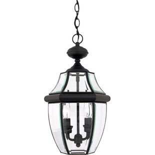 Buy luxury Mellen 2-Light Traditional Outdoor Hanging Lantern By Three Posts