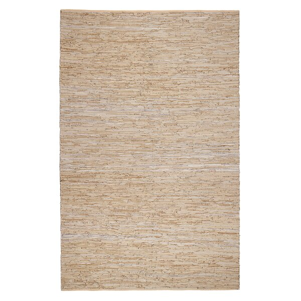 Calvary Hand-Woven Beige/Tan Area Rug by Gracie Oaks