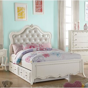 Erskine Platform Bed with Trundle by Harriet Bee