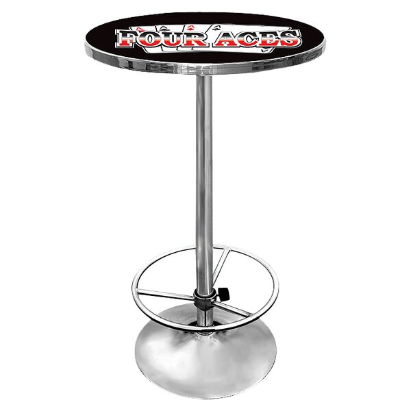 Four Aces Pub Table by Trademark Global