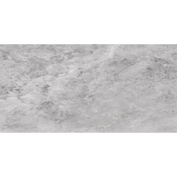 6 x 12 Travertine Field Tile in Gray/Silver by Ephesus Stones