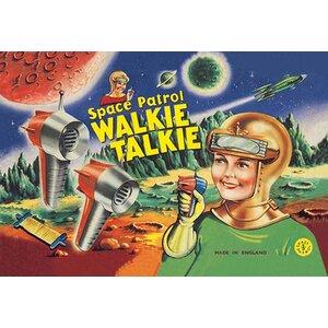 'Space Patrol Walkie Talkie' Vintage Advertisement by Buyenlarge