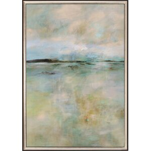 Thoughtful Framed Painting Print by Mercury Row