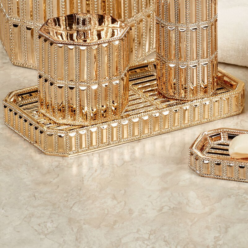 Glitz Bathroom Accessory Tray