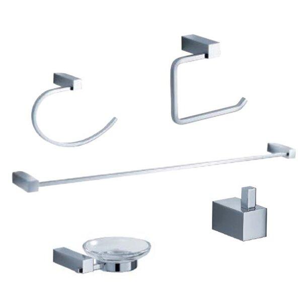 Ottimo 5 Piece Bathroom Hardware Set by Fresca