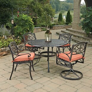 Biscayne 5 Piece Dining Set with Cushion ByHome Styles