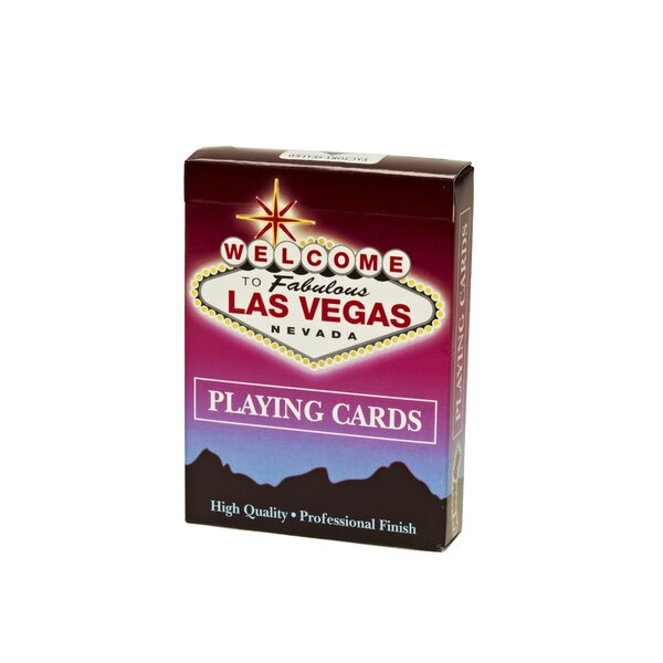 Welcome to Las Vegas Playing Card (Set of 12) by Las Vegas Style