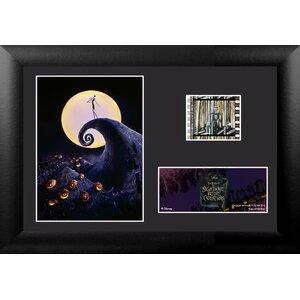 Nightmare Before Christmas (S1) Mini FilmCell Presentation Framed Framed Vintage Advertisement by Trend Setters