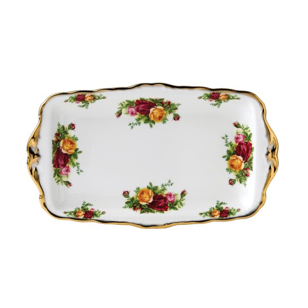 Old Country Roses Rectangular Serving Tray by Royal Albert