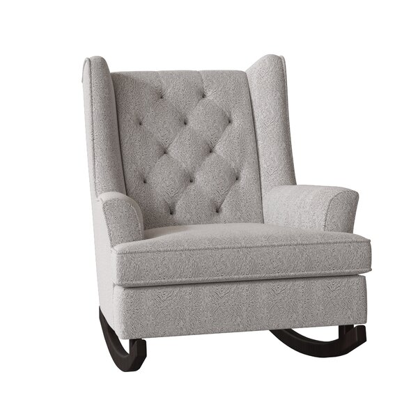 Snowden Wingback Rocking Chair By Gracie Oaks