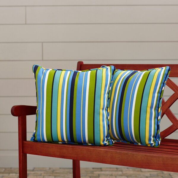 Tovey Indoor/Outdoor Throw Pillow (Set of 2)
