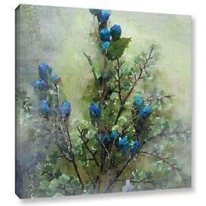 Blue Tinted Painting Print on Wrapped Canvas by Ophelia & Co.