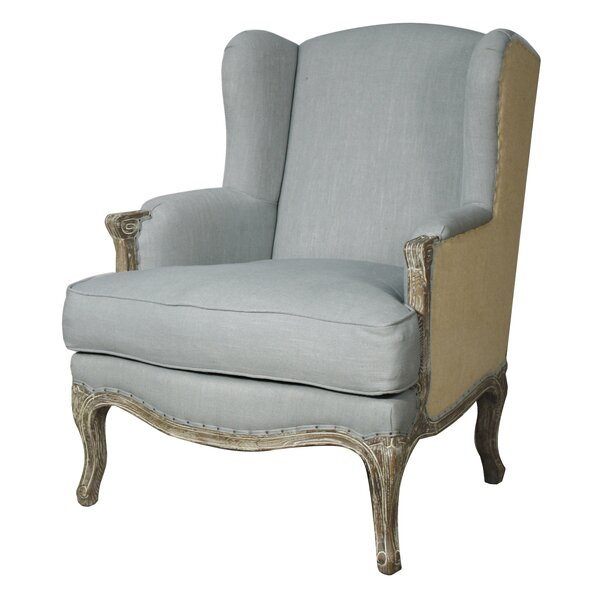 Rotan Wingback Chair by Greyleigh Greyleigh