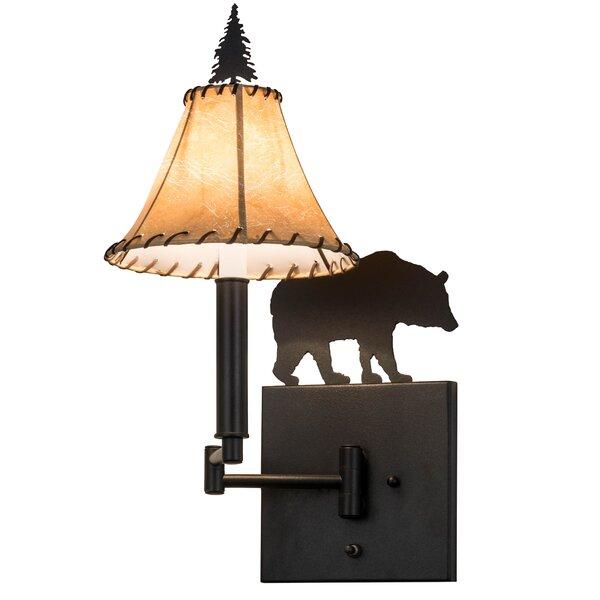 1-Light Swing Arm Lamp by Meyda Tiffany