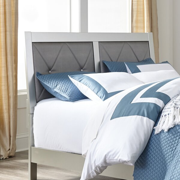 Upham Upholstered Standard Bed by Rosdorf Park