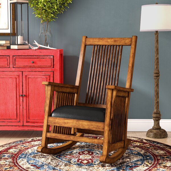 Isolde Rocking Chair by Loon Peak