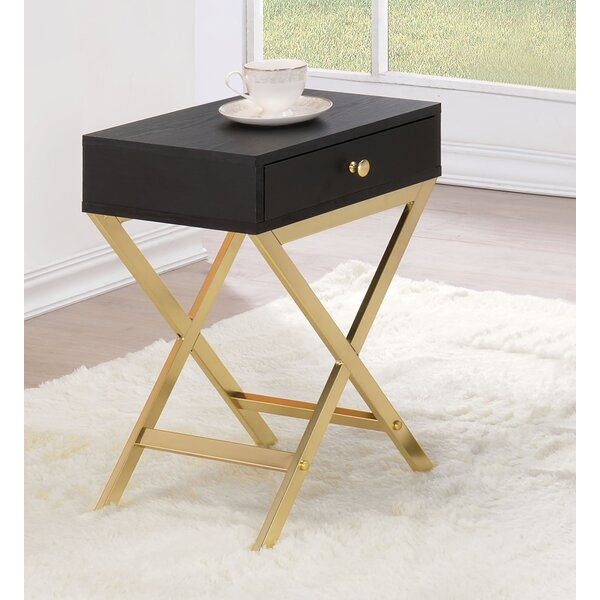 Didama End Table With Storage By Mercer41