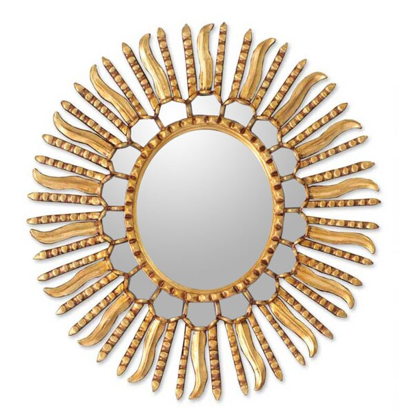 Winter Sun Wall Mirror by Novica