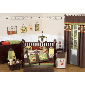 Forest Friends 9 Piece Crib Be...