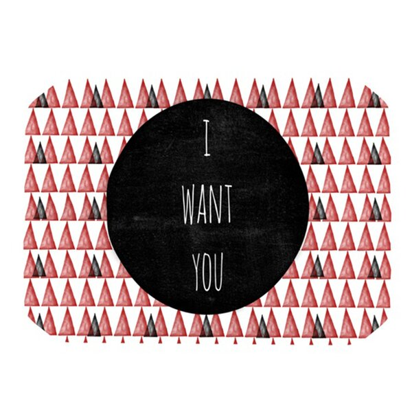 I Want You Placemat by KESS InHouse