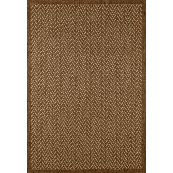 Beaminster Brown Indoor/Outdoor Area Rug by Fleur De Lis Living