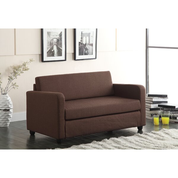 Javin Adjustable Loveseat by Ebern Designs