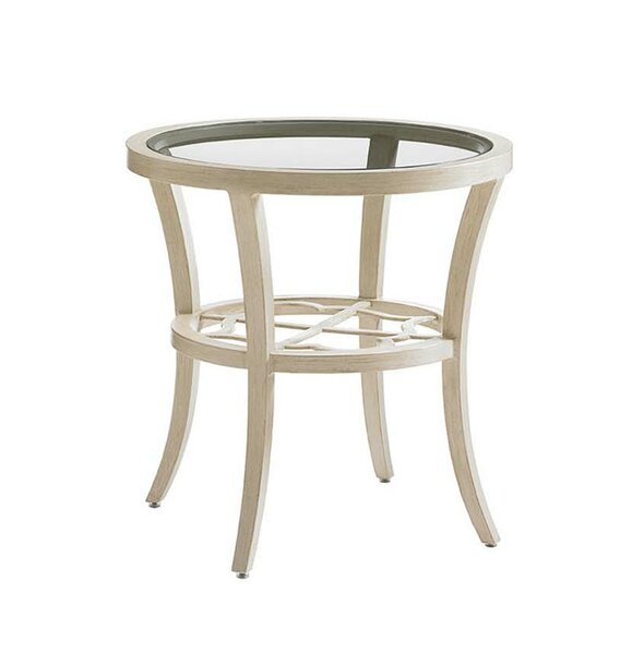 Misty Garden Round End Table by Tommy Bahama Outdoor