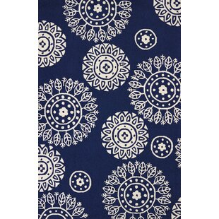 Great choice Atrium Hand-Woven Navy Indoor/Outdoor Area Rug By United Weavers of America