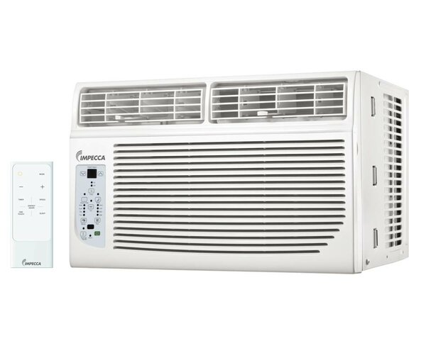 8,000 BTU Energy Star Window Air Conditioner with Remote by Impecca USA