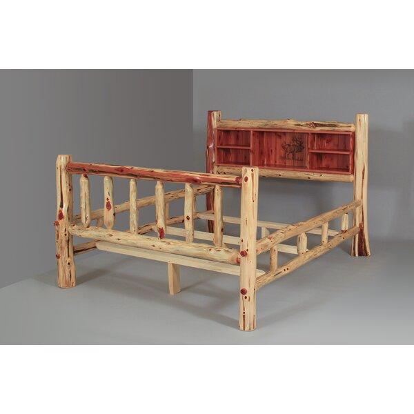 Brockway Rustic Red Cedar Log Standard Bed by Loon Peak Loon Peak