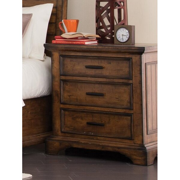 Baye 3 Drawer Nightstand by Canora Grey