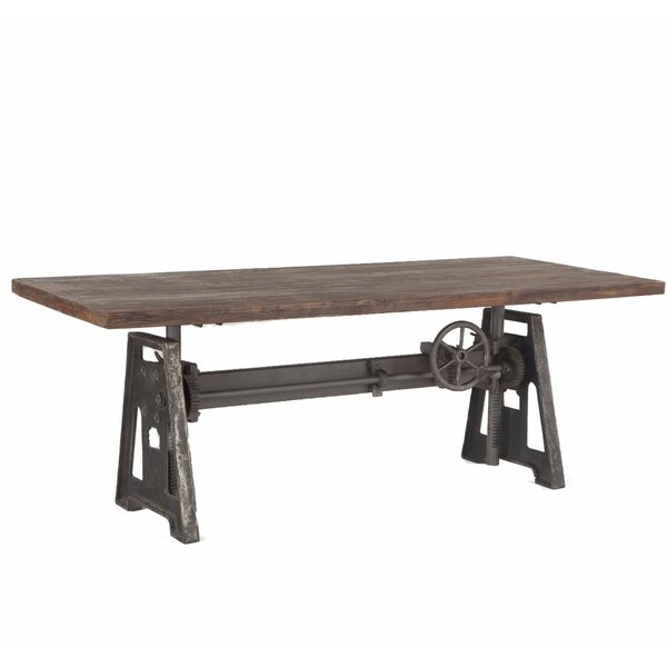 Katherine Crank Solid Wood Dining Table by 17 Stories 17 Stories