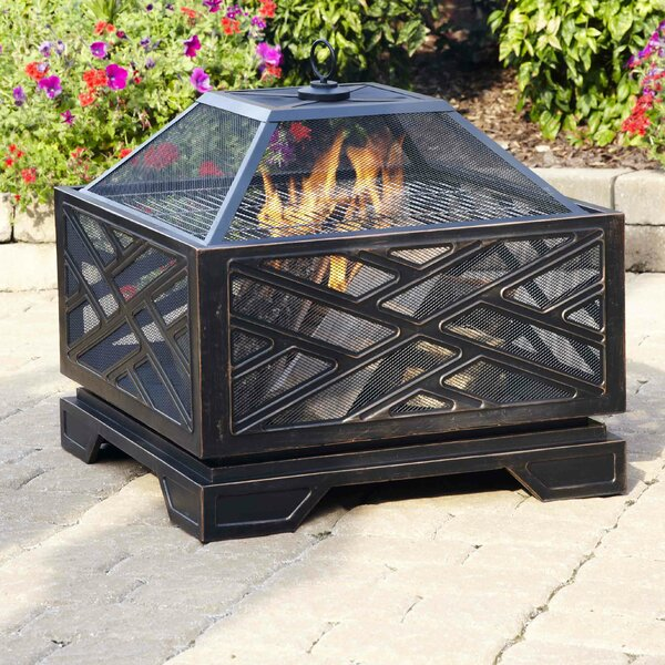 Martin Wood Burning Fire Pit by Pleasant Hearth
