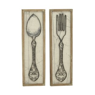 Superior Spoon And Fork Wall Décor Set (Set Of 2)